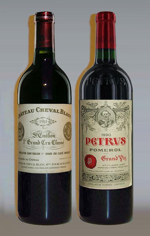 Chateau Cheval Blanc, Petrus l Блог о вине Беаты и Алекса
