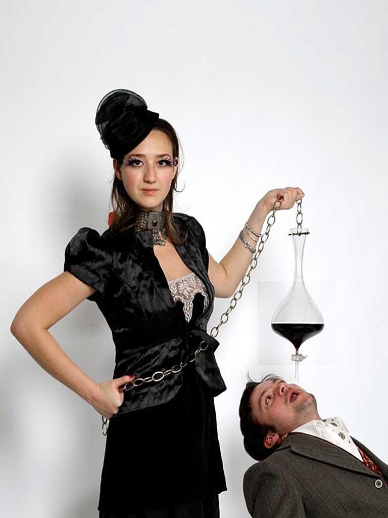 Дизайн стекла. Бокалы для вина Семь смертных грехов. 7 Deadly Glasses by Kacper Hamilton
