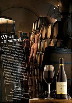 Дизайн в сфере вина: рекламный постер и винная этикетка