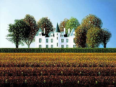 Chateau-Pichon-Longueville-Lalande-Autumn