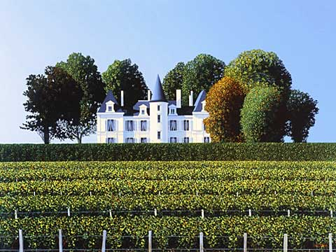 Chateau-Pichon-Longueville-Lalande-Early-Morning