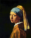 The Girl With A Pearl Earring by Jan Vermeer - Девушка с жемчужной сережкой. Ян Вермеер
