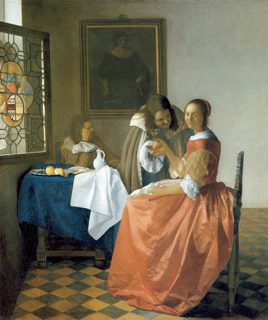 Jan-Vermeer_The-Girl-with-a-Wineglass - Вино в живописи | Блог о вине