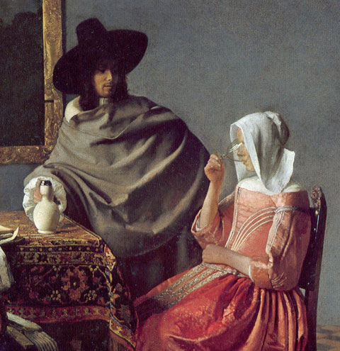 Jan-Vermeer_The-glass-of-Wine_1