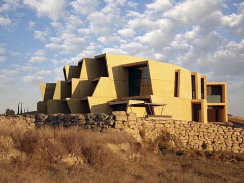 Bodega Antion_Jesús-Marino-Pascual - Архитектура виноделен Испании | Блог о вине Беаты и Алекса
