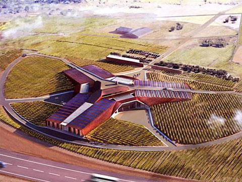 Винодельни Испании, архитектура Норман Фостер