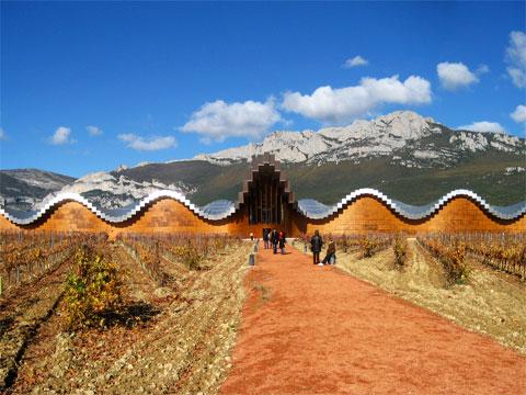 Bodega-Yesios_Santiago-Calatrava - Архитектура виноделен Испании | Блог о вине Беаты и Алекса