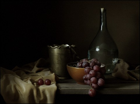 kozachok Naturmort with Grape
