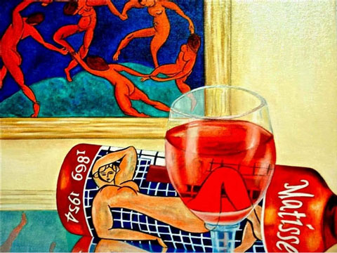 Matisse-Wine-Label - Вино в живописи | Блог о вине Беаты и Алекса