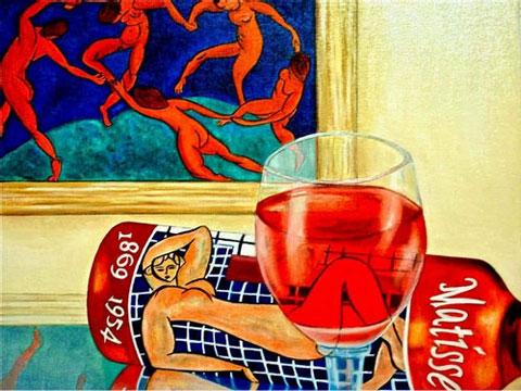 Matisse-Wine-Label - Вино в живописи | Блог о вине Беаты и Алекса
