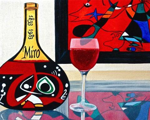 Miro-Wine-Label - Вино в живописи | Блог о вине Беаты и Алекса