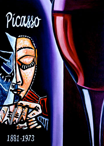 5_Picasso-Wine-Label
