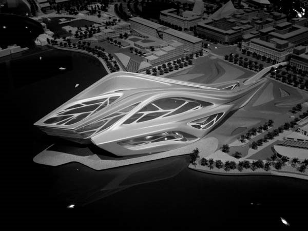 Zaha-Hadid_Performing-Arts-Center_Abu-Dhabi_UAE_project_2006 - Блог о вине Беаты и Алекса