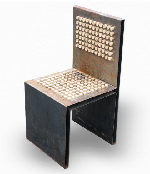 Кресло из винных пробок Gabriel Wiese 7 | Блог о вине
