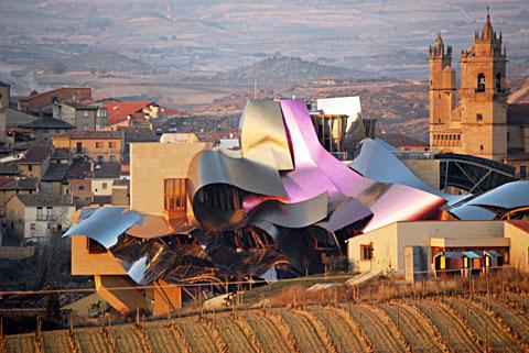 Винный туризм - Marques-de-Riscal - 10 лучших винных отелей Европы | Блог о вине Беаты и Алекса