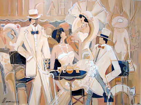 Парижское кафе - Музыка и вино l Блог о вине Беаты и Алекса
