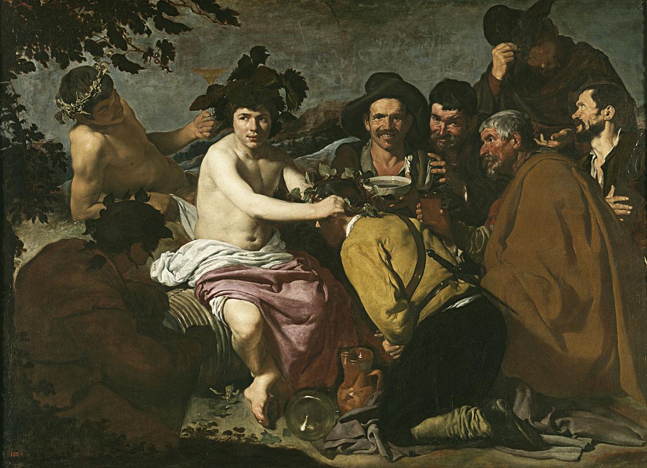 Веласкес. Триумф Вакха, или Пьяницы - Ортега-и-Гассет. Три картины о вине. Дионис - Вакх - Бахус