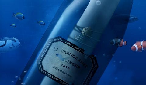 Послание в бутылке: авторские обои для iPad | Блог о вине