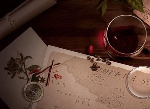 coffee and wine premium ipad wallpaper