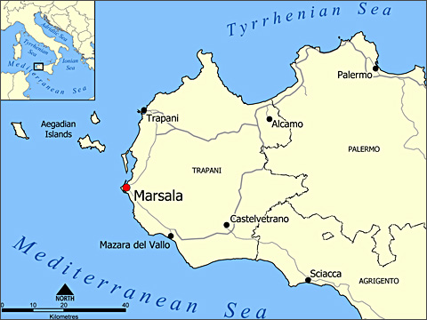 Marsala Марсала: история сицилийского вина