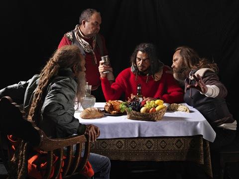 современная трактовка ужина в эммаусе