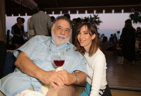 Francis Ford and Sofia Coppola