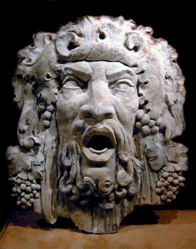Дионис-Вакх-Бахус, древнегреческий бог вина