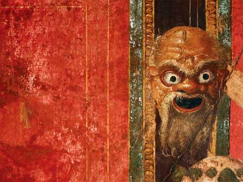 Культ Диониса. Фреска Виллы мистерий в Помпеях