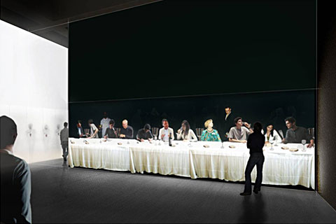 Экспозиция Суд Парижа 1976 на выставке Как вино стало современным