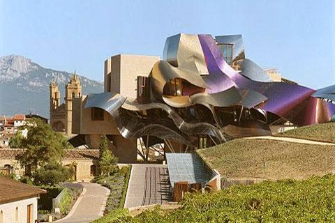 Marqués-de-Riscal_Frank-Gehry - Маркиз де Рискаль - Фрэнк Гери