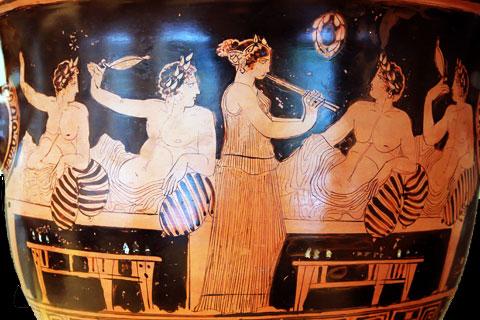 Симпосий - пир в Древней Греции
