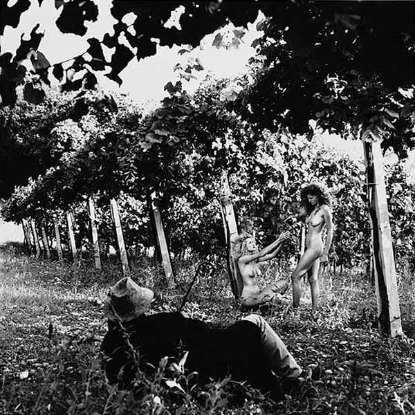 Женщина и вино Фотография обнаженной натуры Хельмут Ньютон