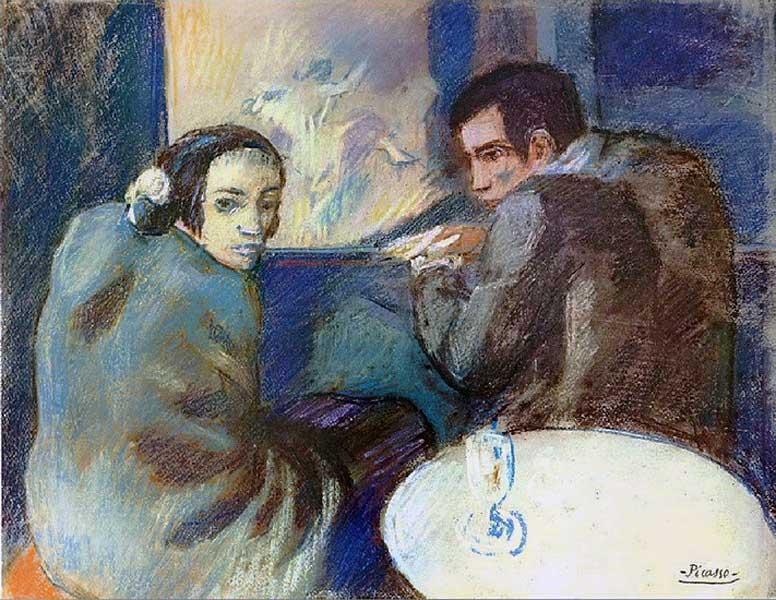 Пабло Пикассо, вино картинки