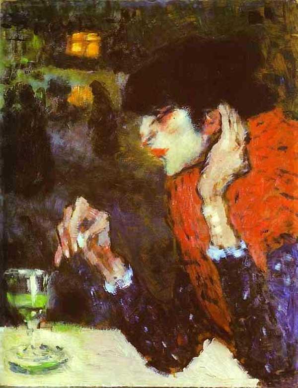 Пабло Пикассо. Любительница абсента