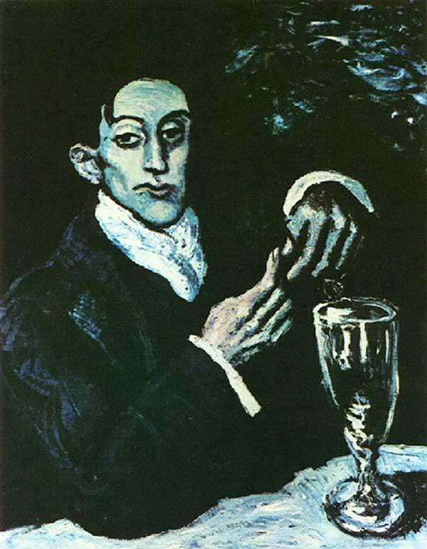 Пабло Пикассо, Любитель абсента, или Портрет Анхеля Фернандеса де Сото