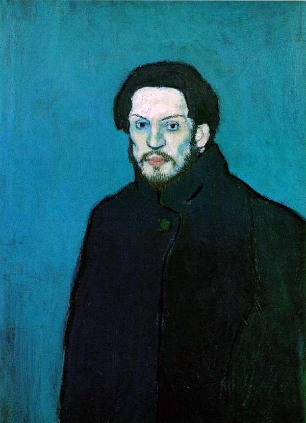 Пабло Пикассо, автопортрет