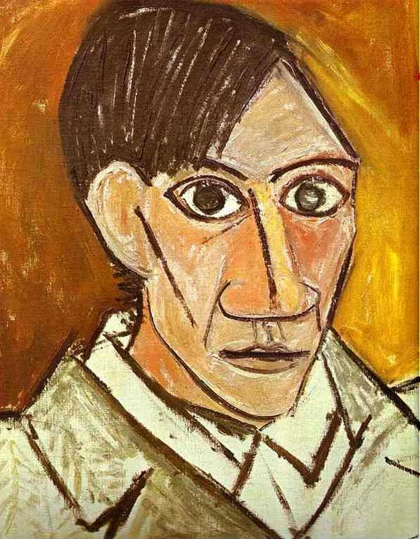 Пабло Пикассо. Автопртрет. 1907