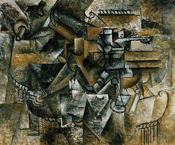 Пабло Пикассо. Бокал абсента. 1911