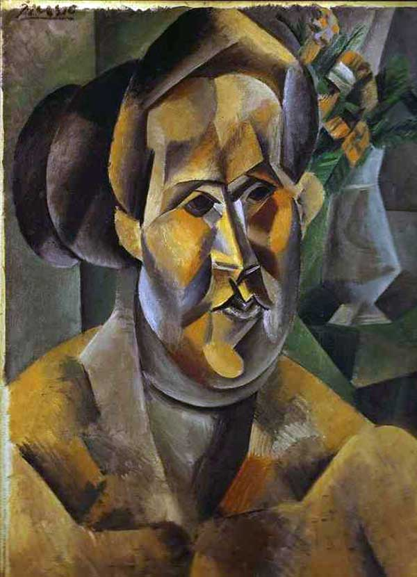 Пабло Пикассо. Портрет Фернарды Оливье. 1909