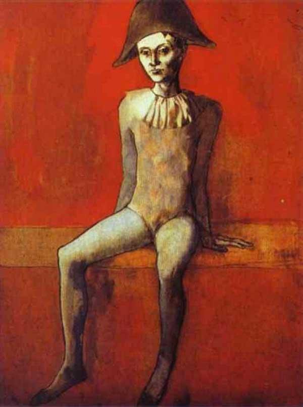 Пабло Пикассо, Арлекин