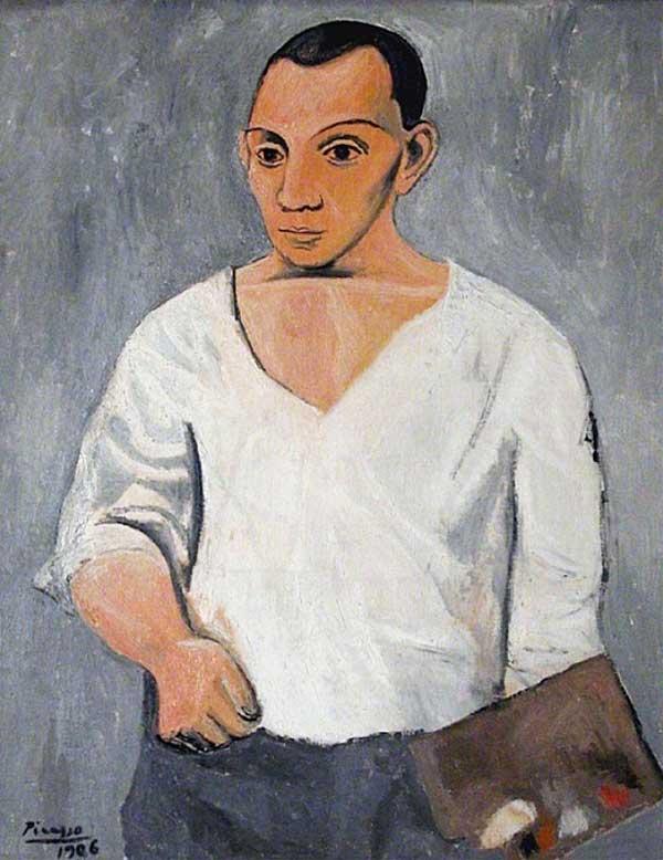 Пабло Пикассо, автопортреты художников