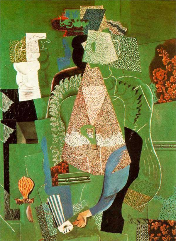 Пабло Пикассо. Портрет девушки. 1914