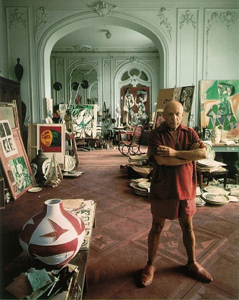 Pablo Picasso, photo by Arnold Newman