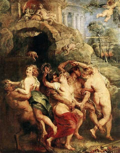 Питер Паудь Рубенс. Прздник Венеры. 1630