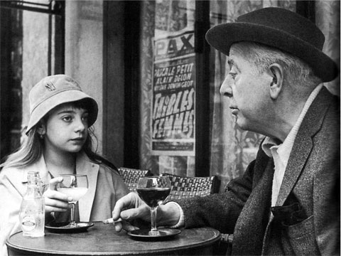 Robert Doisneau. Jacques Prevert. Paris, 1955