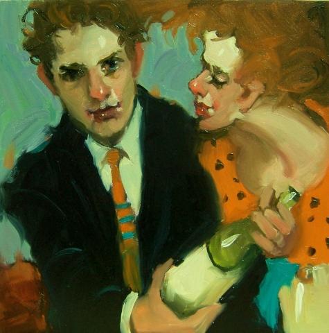 Любовь и вино - Современная живопись, Kim Roberti