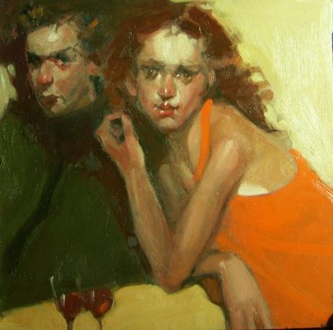 Современнная живопись а День Святого Валентина