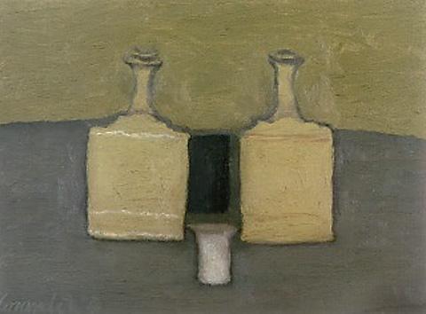 Morandi Натюрморт с бутылками