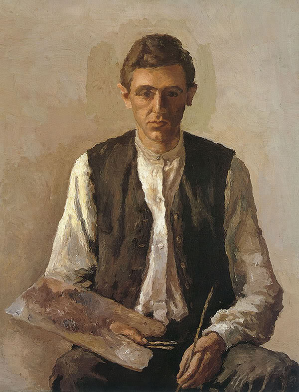 Morandi Self Portrait Джорджо Моранди, Автопортрет, 1925