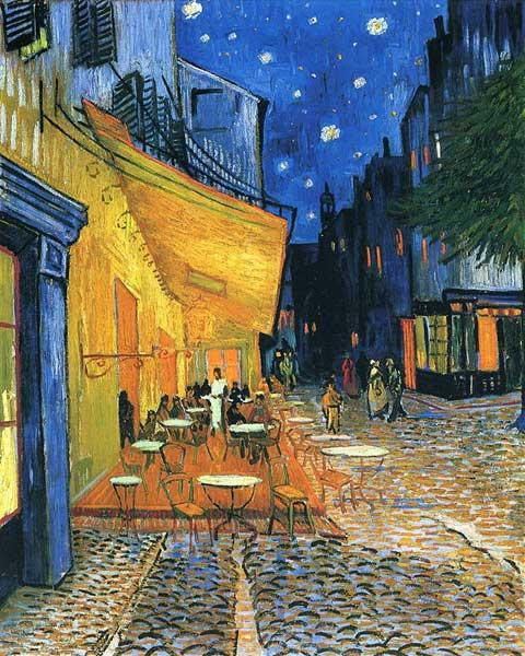 Винсент Ван Гог, Терраса ночного кафе, 1888